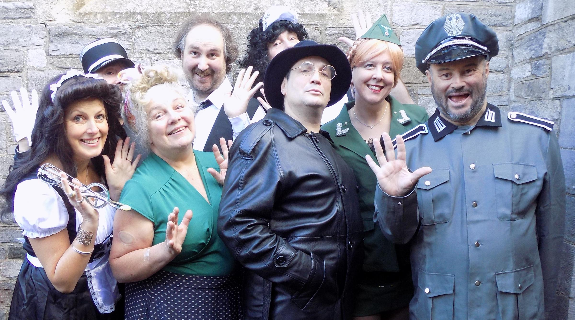 Murder Mystery Comedy Tribute to Allo Allo - with curry supper