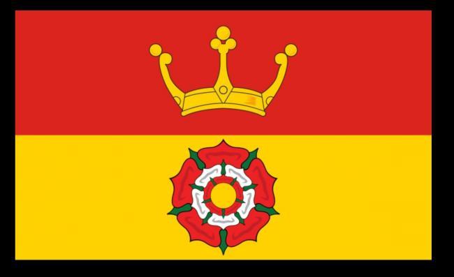 The Hampshire County Council flag