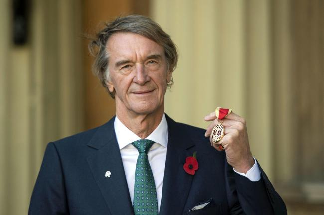 Sir Jim Ratcliffe, chairman and chief executive of Ineos