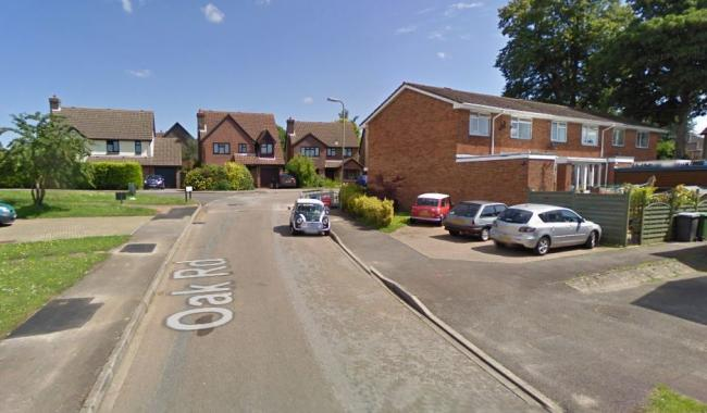 Oak Road in Bishop's Waltham. Picture: Google Maps.