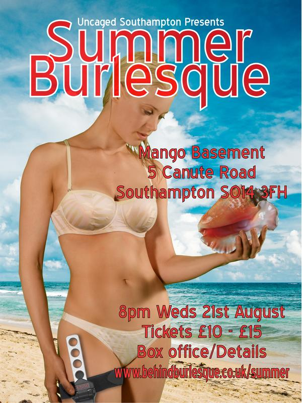 Uncaged Cabaret: Summer Burlesque
