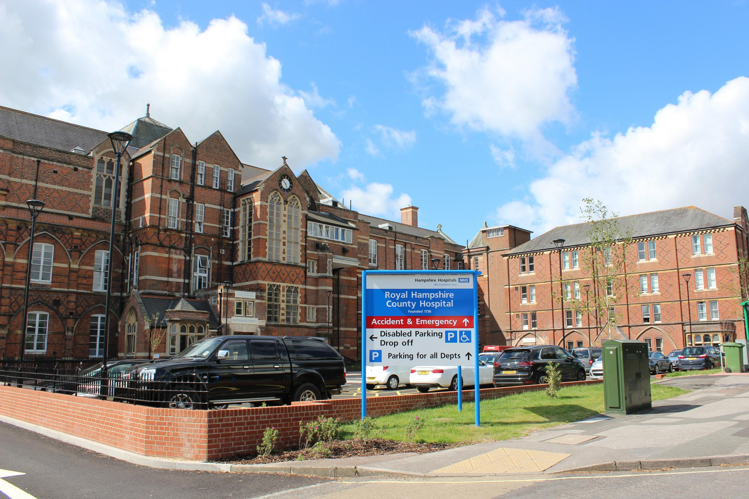 Work gets under way on new unit at Winchester's hospital