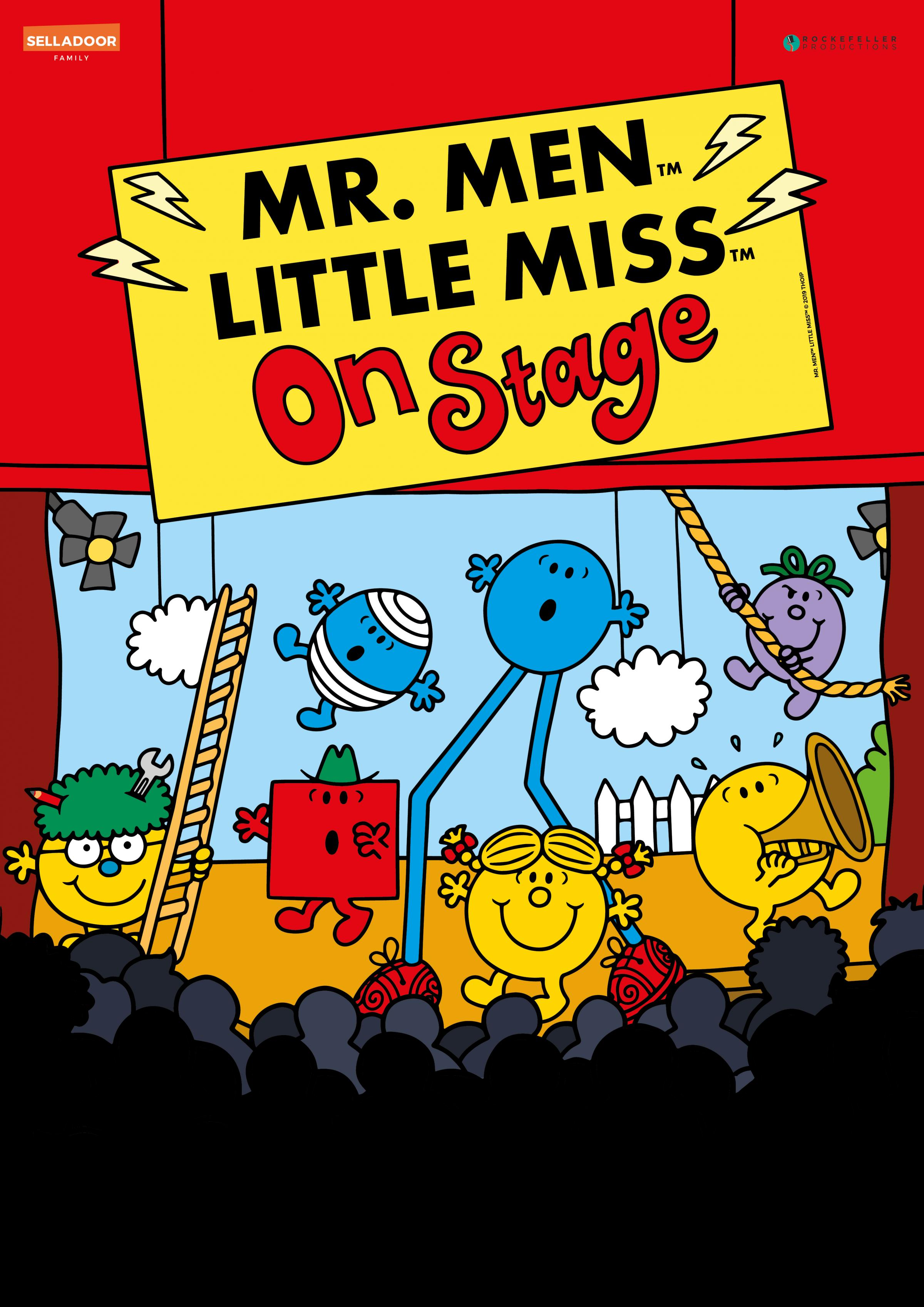 Mr. Men and Little Miss on Stage