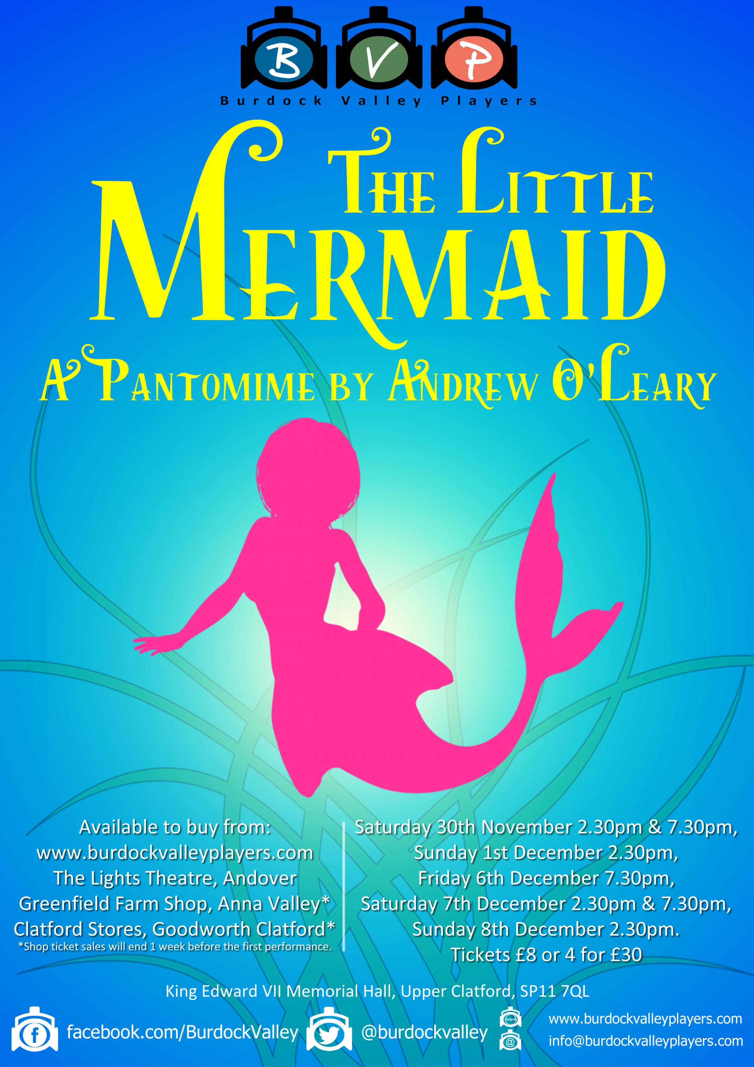 The Little Mermaid – A Pantomime by Andrew O'Leary