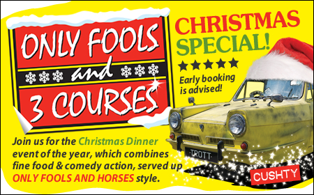 Only Fools and 3 Courses XMAS Special Dinner Portsmouth 29/11/2019
