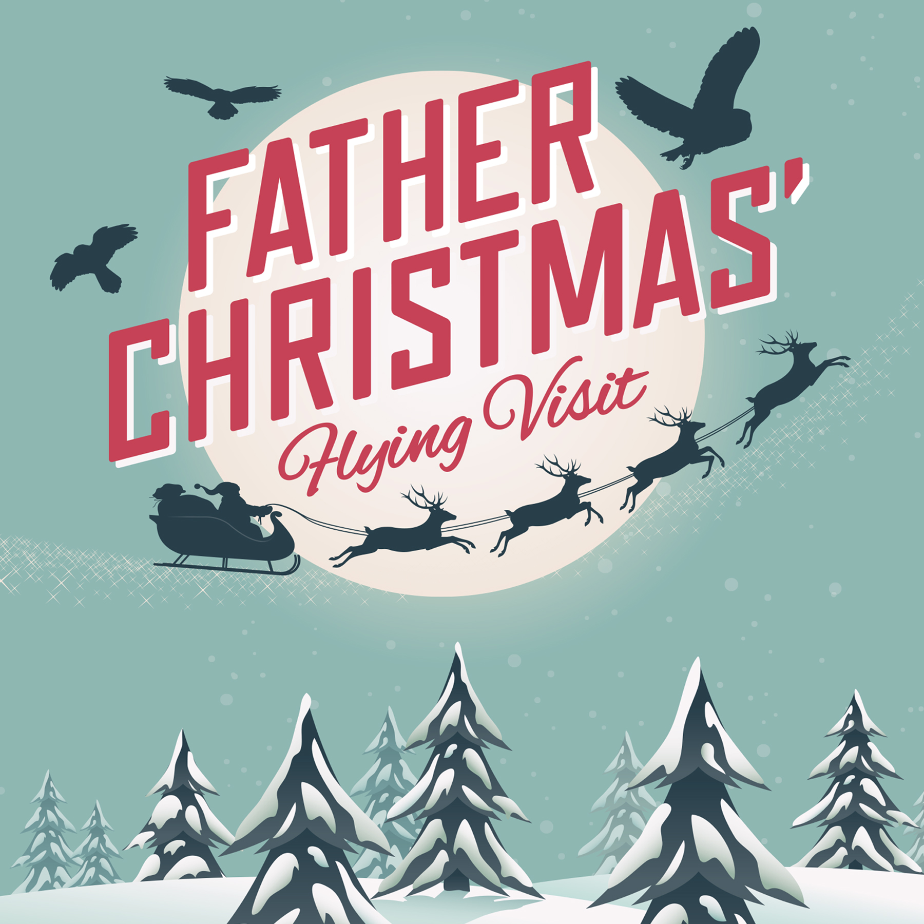 Father Christmas' Flying Visit