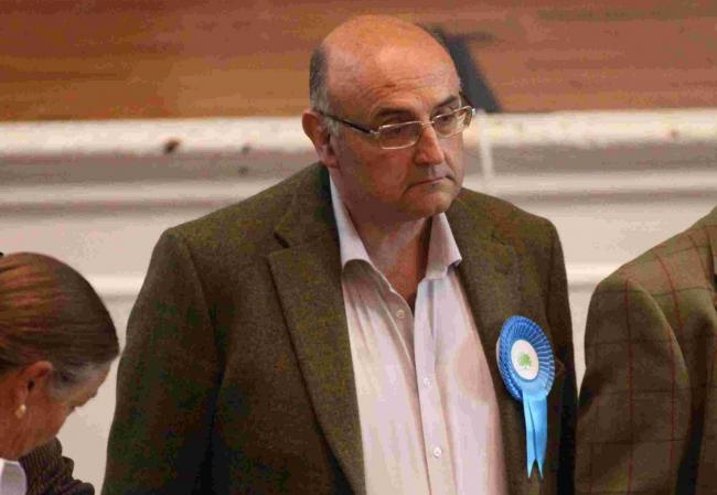 23 May 2014 - Winchester Election results - Stephen Godfrey (con) wins Wonston and Micheldever seat.