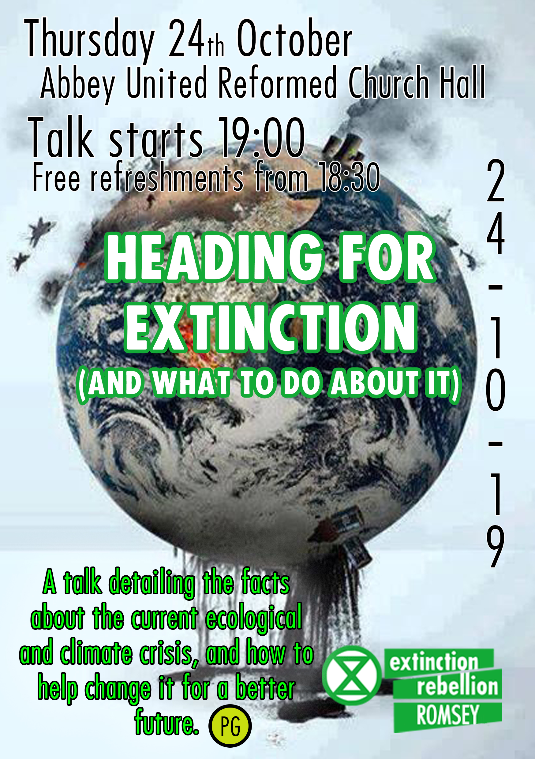Heading for extinction ( and what to do about it )