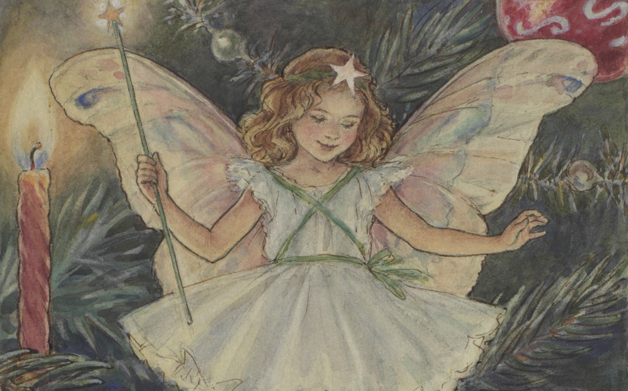 An Enchanted Christmas with the Flower Fairies at Mottisfont