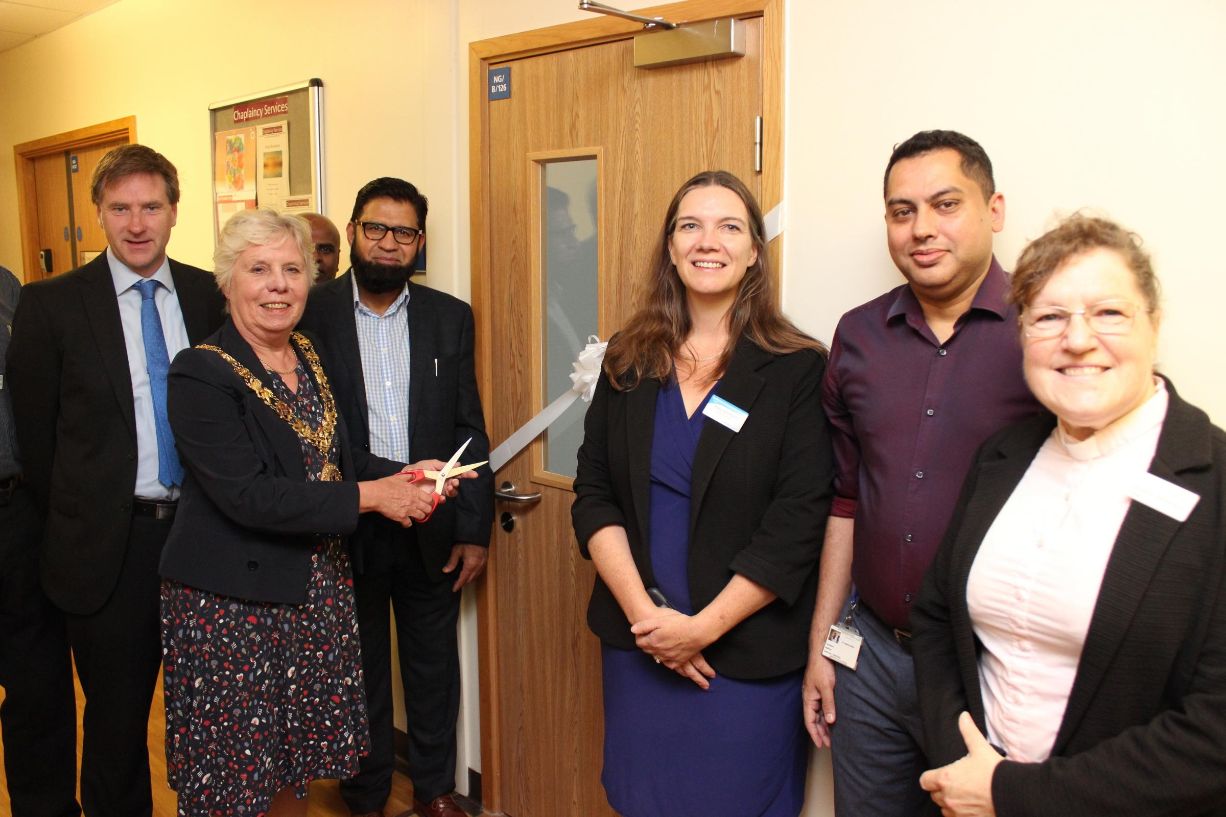 New multi-faith room opens at Royal Hampshire County Hospital in Winchester