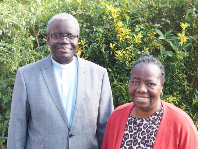 Reverend Joseph and Mrs Anna Tembo