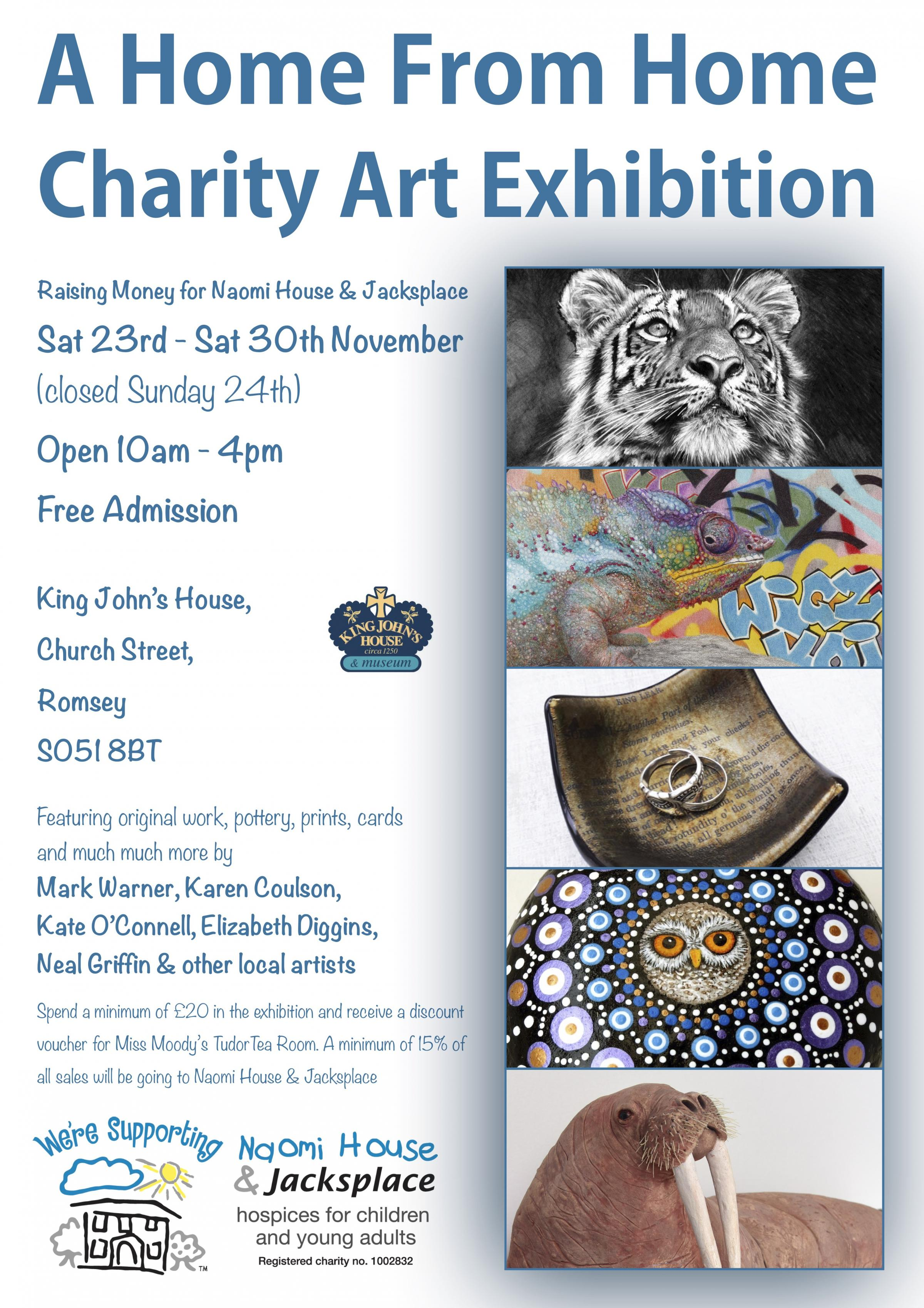 A Home From Home Charity Art Exhibition