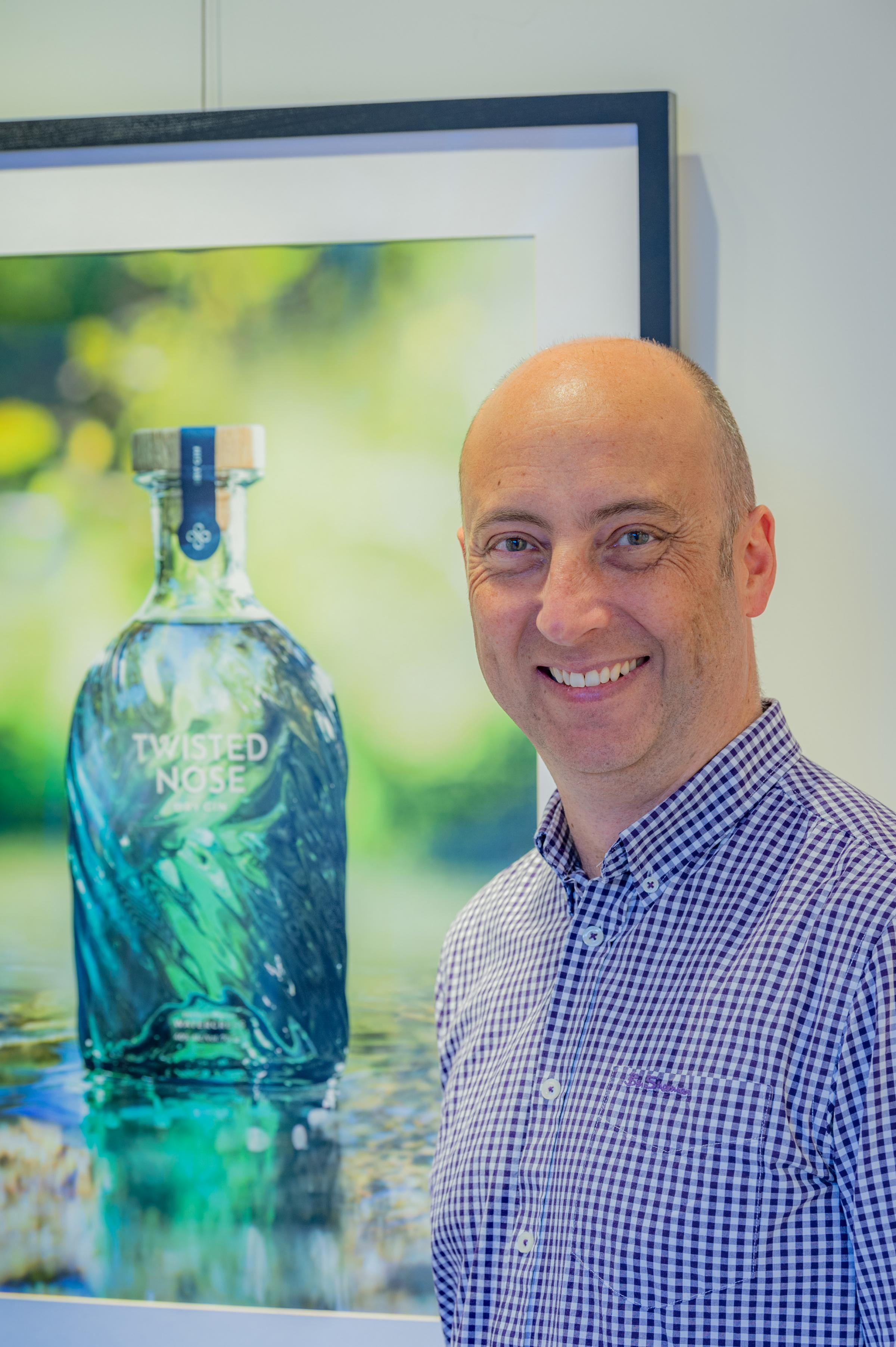 Winchester Distillery unveils new eco-friendly bottle for Twisted Nose gin