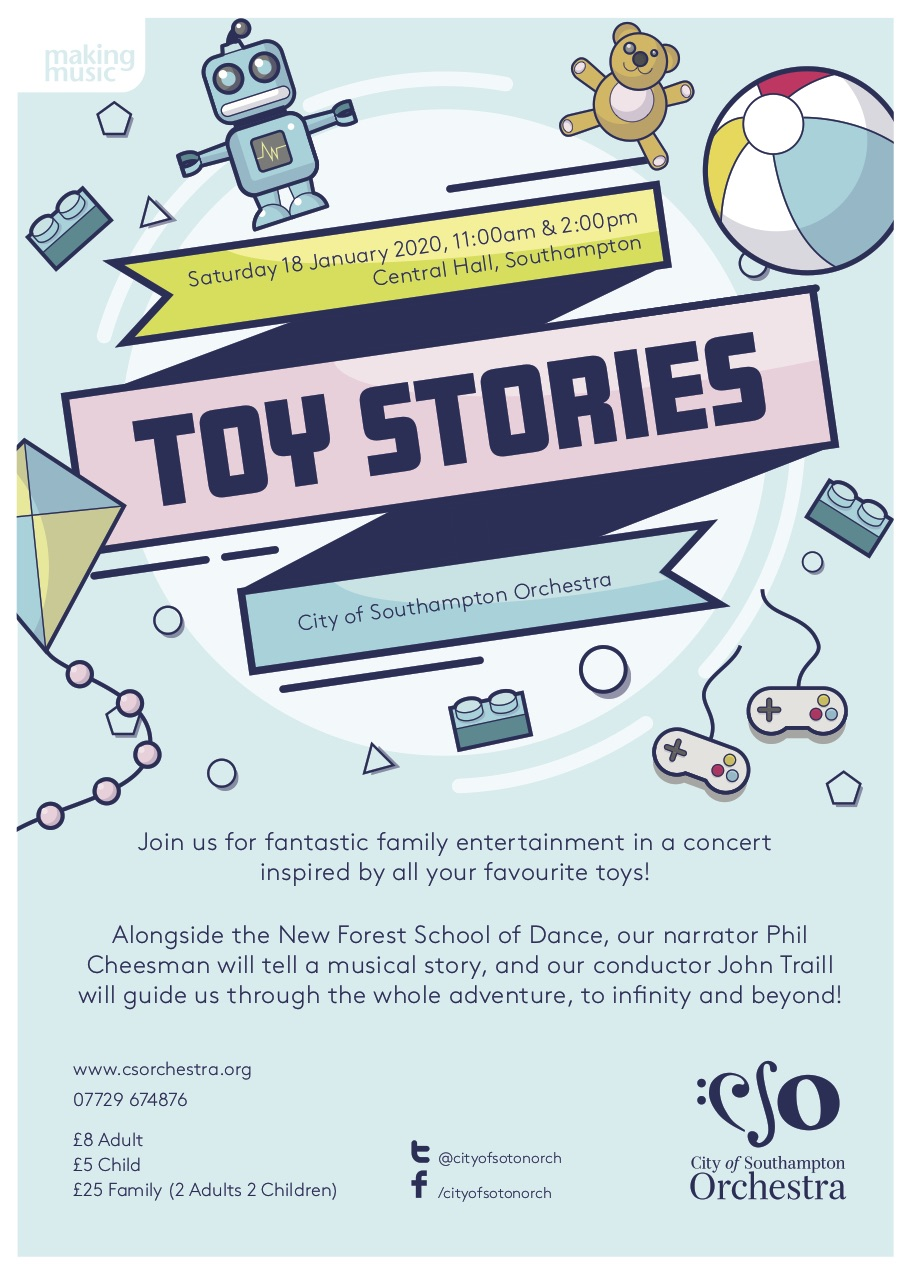 Toy Stories : City of Southampton Orchestra