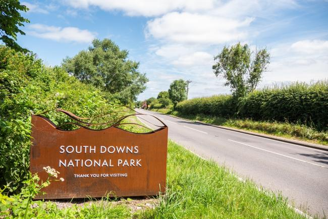 South Downs National Park's new signs