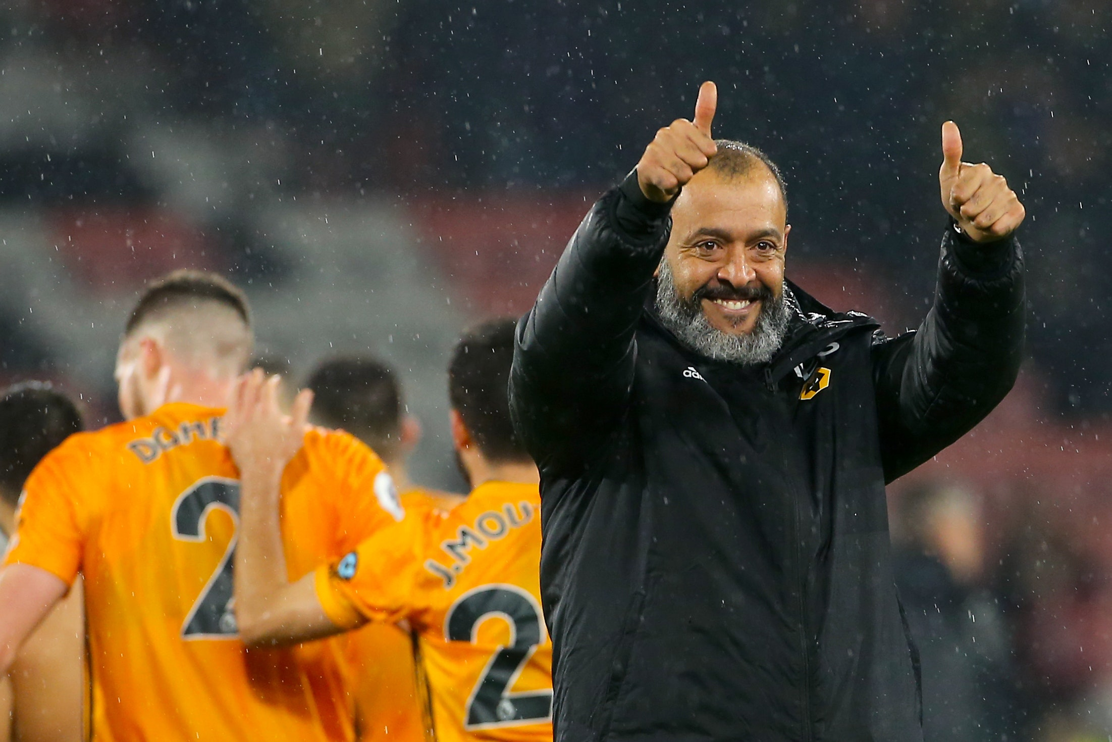 Wolves boss Nuno delighted with first-half display at Bournemouth ...