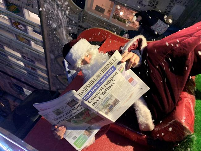 Santa and the Hampshire Chronicle