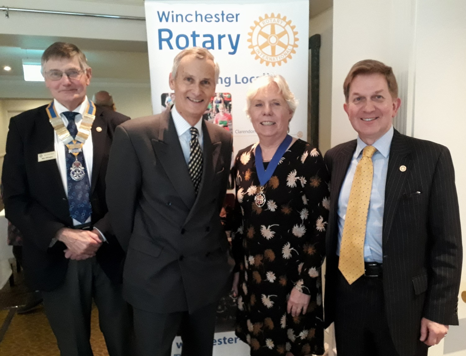 Winchester Rotary's big business lunch coined a success