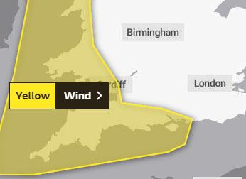 The Met Office hasn't issued a yellow weather warning for January 13.
