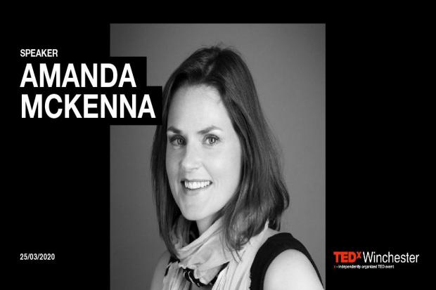 Amanda McKenna will be among the speakers at TEDx Winchester