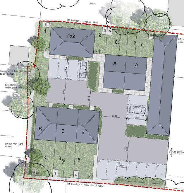 Plans have been submitted for new houses in Oliver's Battery Road South