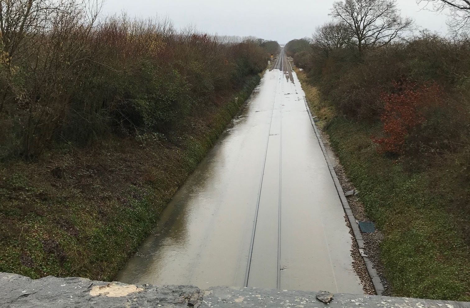 Storm Dennis: Live updates as all trains between Southampton and Bournemouth are halted due to flooding on the tracks
