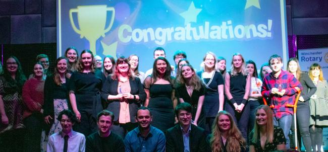 Volunteering and community champions celebrated for outstanding contributions at University awards ceremony