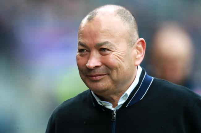 Eddie Jones, pictured, has agreed to a pay cut during the coronavirus shutdown