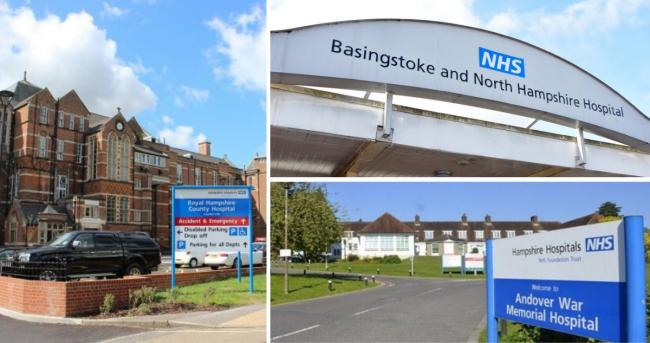 Hampshire Hospitals NHS Foundation Trust runs Winchester, Basingstoke and Andover's hospitals