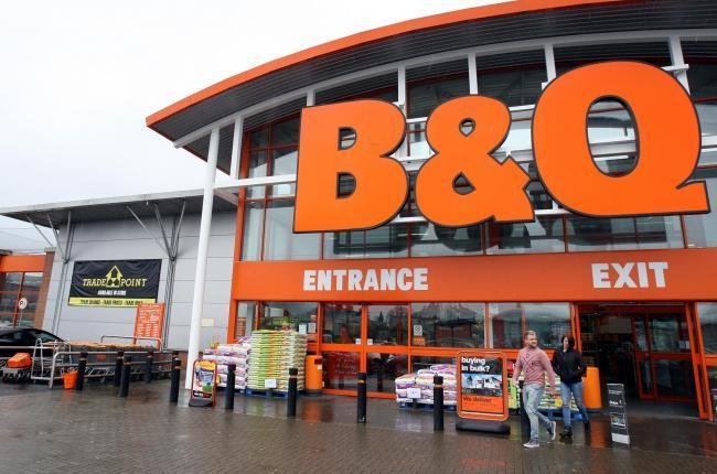Online sales tripled for the owner of Hampshire-based DIY giant B&Q
