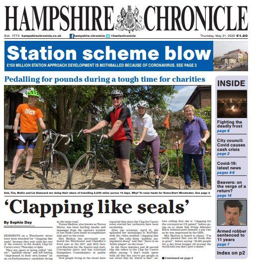 Hampshire Chronicle, May 21, 2020