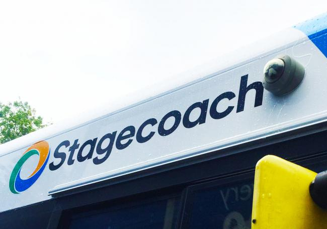 "Stagecoach announced new ""busy bus"" feature on app"