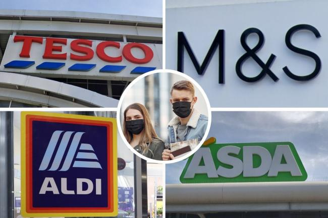 Aldi, Asda, Tesco, Sainsbury's and M&S update rules on face masks for shoppers