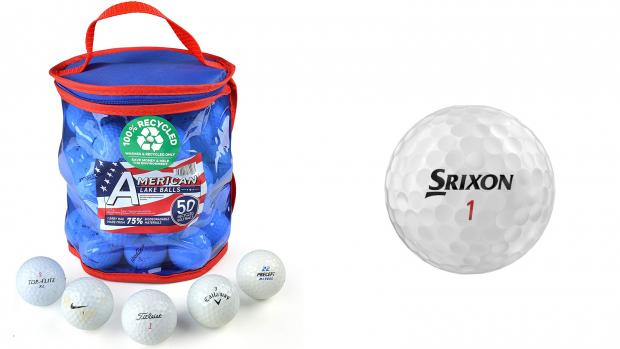 Hampshire Chronicle: To play golf, you need a ball. Credit: Second Chance / Srixon