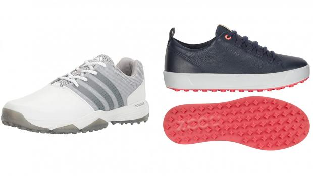 Hampshire Chronicle: The right pair of kicks can escalate your golf game. Credit: Adidas / Ecco