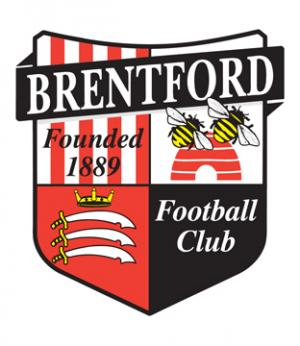 Hampshire Chronicle: Football Team Logo for Brentford