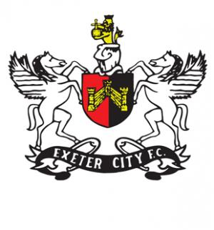 Hampshire Chronicle: Football Team Logo for Exeter City