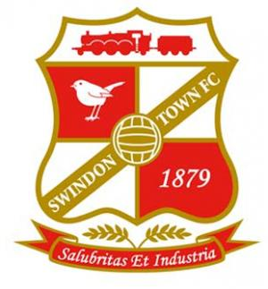 Hampshire Chronicle: Football Team Logo for Swindon Town