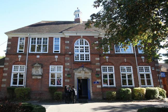 Rachel Adams 11.10.16 Perins School in Alresford for school report feature - original building built in 1910.