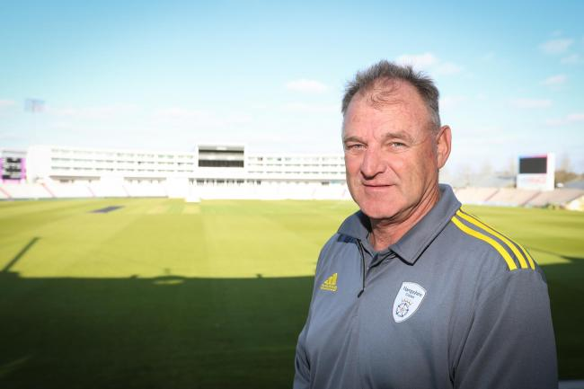 Hampshire Cricket team photocall - Head coach Adi Birrell.