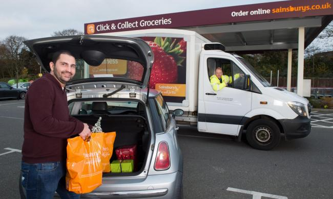 Sainsbury's customers can now click and collect in Bishop's Waltham