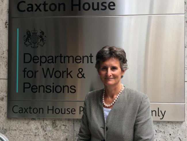 Flick Drummond has been appointed as a Parliamentary Private Secretary at the Department for Work and Pensions