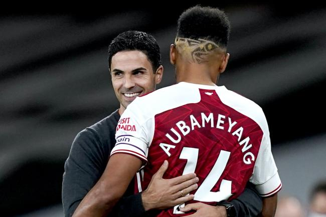 Pierre-Emerick Aubameyang has been in fine form since Mikel Arteta took over as Arsenal boss.