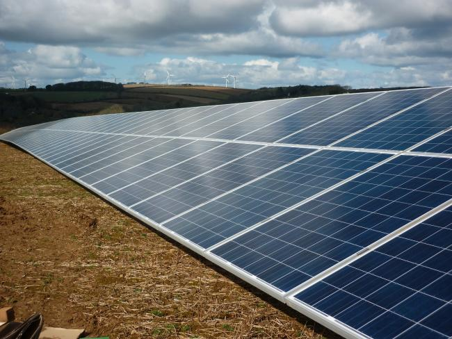 A consultation on the proposed solar farm is underway
