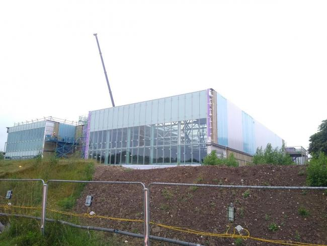 The new Winchester leisure centre