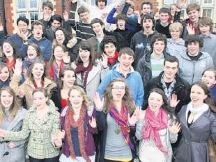 Oxbridge beckons for proud students