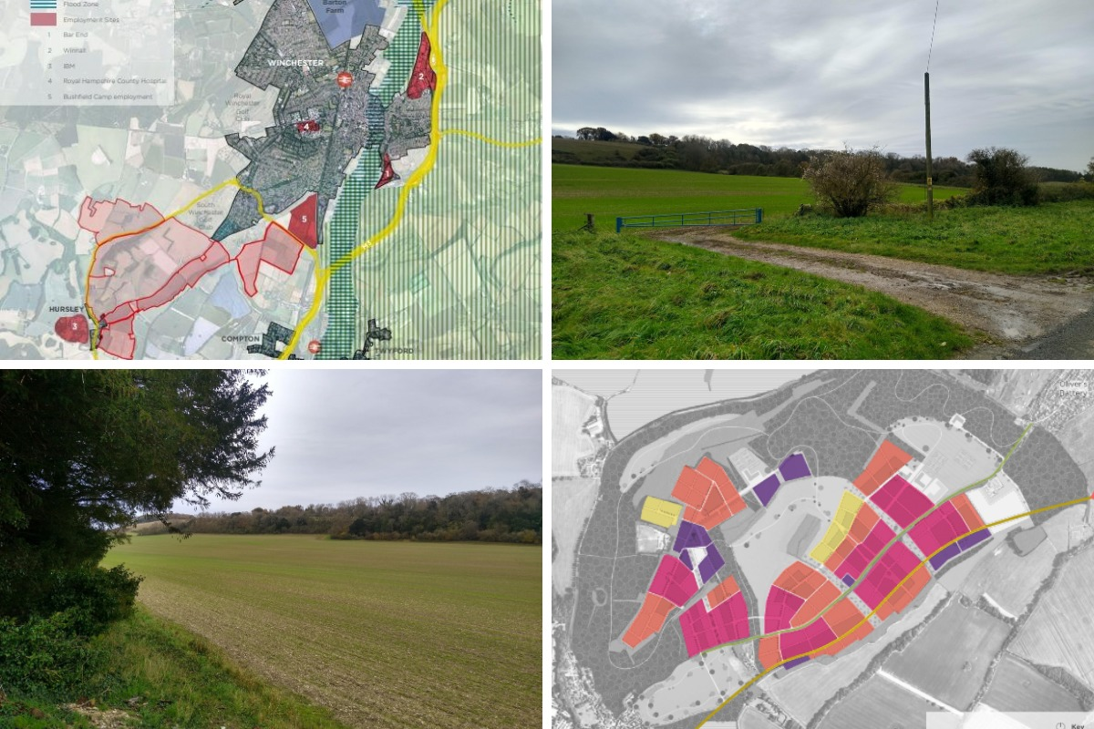 Opposition mounting against major plans to build 5,000 homes near Winchester