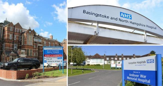 'Our staff are working tirelessly': Hampshire Hospitals speak out against false online rumours