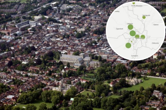 Number of Covid deaths in each area of Winchester revealed