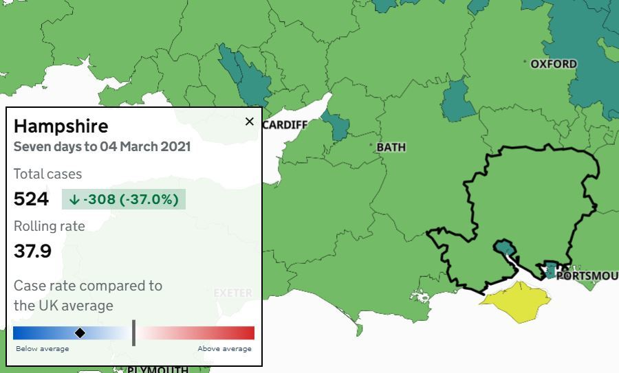 Hampshire Numbers were released today